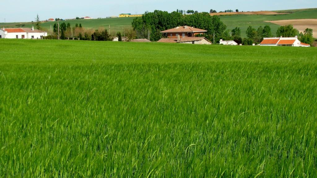 Mozodiel visto desde el acceso noroeste